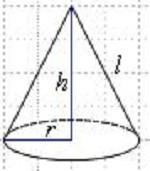 Расчёт площади конуса